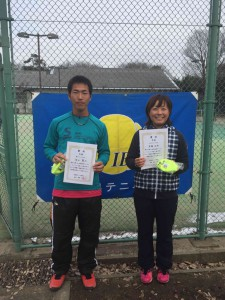 県トーナメントS男女3位