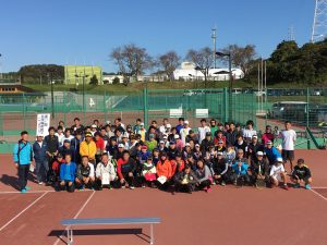 IBTA「会員だより」写真_[日立支部 北茨城市テニス協会]2019shimin_1shugo