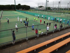 ☆開会式[テニスの日茨城2020講習会]DSC00815