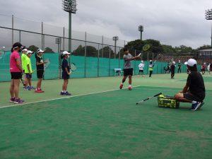 ☆講習中[テニスの日茨城2020講習会]DSC00843